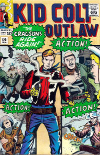 Cover Thumbnail for Kid Colt Outlaw (Marvel, 1949 series) #120