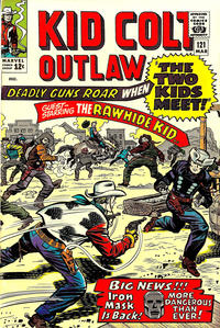 Cover Thumbnail for Kid Colt Outlaw (Marvel, 1949 series) #121