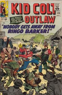 Cover Thumbnail for Kid Colt Outlaw (Marvel, 1949 series) #123