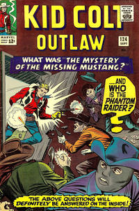 Cover Thumbnail for Kid Colt Outlaw (Marvel, 1949 series) #124