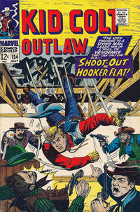 Cover Thumbnail for Kid Colt Outlaw (Marvel, 1949 series) #134
