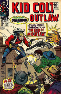 Cover Thumbnail for Kid Colt Outlaw (Marvel, 1949 series) #138