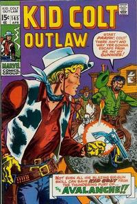 Cover Thumbnail for Kid Colt Outlaw (Marvel, 1949 series) #145