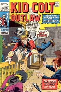 Cover Thumbnail for Kid Colt Outlaw (Marvel, 1949 series) #154