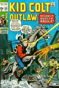 Cover Thumbnail for Kid Colt Outlaw (Marvel, 1949 series) #155