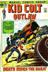 Cover Thumbnail for Kid Colt Outlaw (Marvel, 1949 series) #156