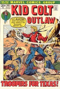 Cover Thumbnail for Kid Colt Outlaw (Marvel, 1949 series) #161