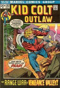 Cover Thumbnail for Kid Colt Outlaw (Marvel, 1949 series) #162