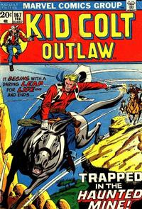 Cover Thumbnail for Kid Colt Outlaw (Marvel, 1949 series) #167