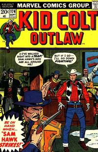 Cover Thumbnail for Kid Colt Outlaw (Marvel, 1949 series) #174