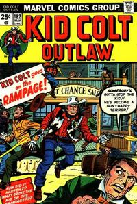 Cover Thumbnail for Kid Colt Outlaw (Marvel, 1949 series) #182