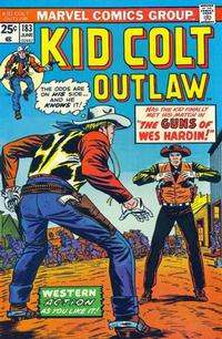 Cover Thumbnail for Kid Colt Outlaw (Marvel, 1949 series) #183