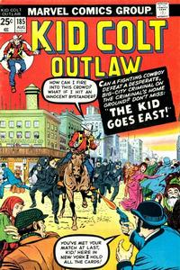 Cover Thumbnail for Kid Colt Outlaw (Marvel, 1949 series) #185