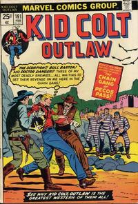 Cover Thumbnail for Kid Colt Outlaw (Marvel, 1949 series) #191