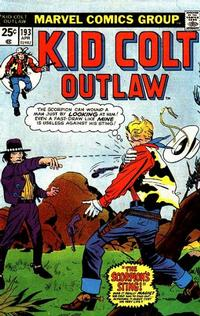 Cover Thumbnail for Kid Colt Outlaw (Marvel, 1949 series) #193