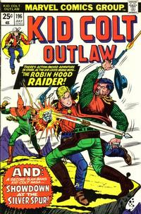 Cover Thumbnail for Kid Colt Outlaw (Marvel, 1949 series) #196