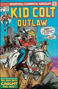 Cover Thumbnail for Kid Colt Outlaw (Marvel, 1949 series) #197