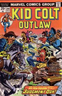 Cover Thumbnail for Kid Colt Outlaw (Marvel, 1949 series) #204