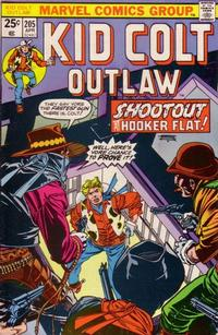 Cover Thumbnail for Kid Colt Outlaw (Marvel, 1949 series) #205