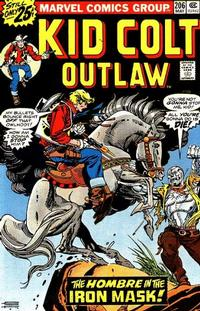 Cover Thumbnail for Kid Colt Outlaw (Marvel, 1949 series) #206