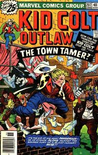 Cover Thumbnail for Kid Colt Outlaw (Marvel, 1949 series) #207