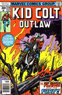 Cover Thumbnail for Kid Colt Outlaw (Marvel, 1949 series) #216