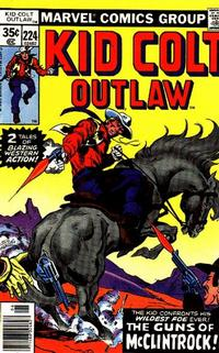 Cover Thumbnail for Kid Colt Outlaw (Marvel, 1949 series) #224