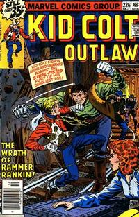 Cover Thumbnail for Kid Colt Outlaw (Marvel, 1949 series) #226
