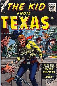 Cover Thumbnail for The Kid from Texas (Marvel, 1957 series) #2