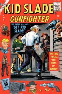 Cover Thumbnail for Kid Slade, Gunfighter (Marvel, 1957 series) #8