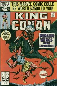 Cover Thumbnail for King Conan (Marvel, 1980 series) #3 [Direct]
