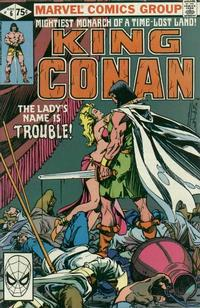 Cover Thumbnail for King Conan (Marvel, 1980 series) #6 [Direct]