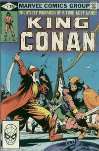 Cover Thumbnail for King Conan (Marvel, 1980 series) #7 [Direct]