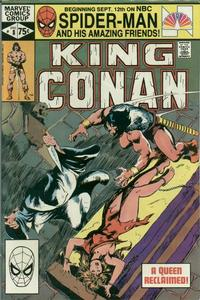 Cover Thumbnail for King Conan (Marvel, 1980 series) #8 [Direct]