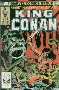 Cover Thumbnail for King Conan (Marvel, 1980 series) #15 [Direct]