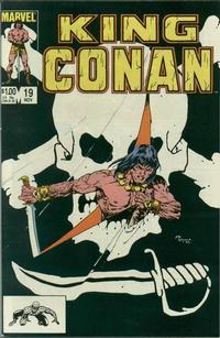 Cover Thumbnail for King Conan (Marvel, 1980 series) #19 [Direct Edition]