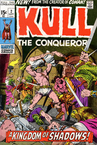 Cover Thumbnail for Kull the Conqueror (Marvel, 1971 series) #2