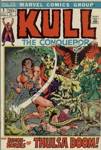 Cover Thumbnail for Kull the Conqueror (Marvel, 1971 series) #3