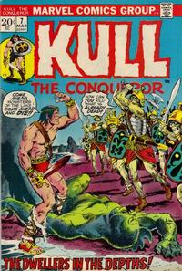 Cover Thumbnail for Kull, the Conqueror (Marvel, 1971 series) #7 [Regular Edition]