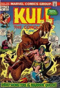 Cover Thumbnail for Kull the Conqueror (Marvel, 1971 series) #10 [Regular]