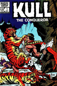 Cover Thumbnail for Kull the Conqueror (Marvel, 1983 series) #1