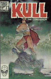 Cover Thumbnail for Kull the Conqueror (Marvel, 1983 series) #3 [Direct Edition]
