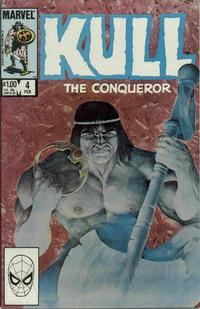 Cover Thumbnail for Kull the Conqueror (Marvel, 1983 series) #4 [Direct Edition]