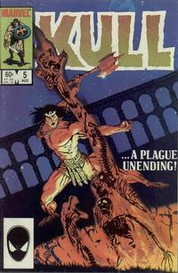 Cover Thumbnail for Kull the Conqueror (Marvel, 1983 series) #5 [Direct Edition]