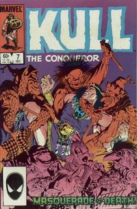 Cover Thumbnail for Kull the Conqueror (Marvel, 1983 series) #7 [Direct Edition]