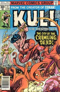 Cover Thumbnail for Kull the Destroyer (Marvel, 1973 series) #21
