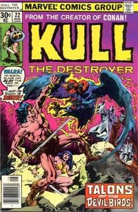 Cover Thumbnail for Kull the Destroyer (Marvel, 1973 series) #22