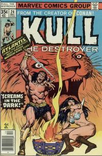 Cover Thumbnail for Kull the Destroyer (Marvel, 1973 series) #24
