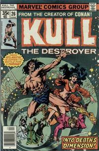 Cover Thumbnail for Kull the Destroyer (Marvel, 1973 series) #26