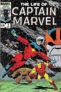 Cover Thumbnail for The Life of Captain Marvel (Marvel, 1985 series) #3